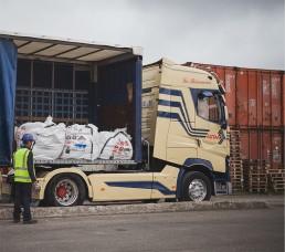 Inertam - transport des déchets amiantés